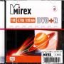 DVD+R Mirex 4,7 Гб 16x Slim case